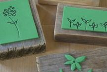 hand-made stamps
