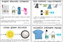 DIY Cleaning Supplies / Cleaning supplies, air freshners, etc