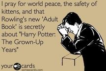 Harry Potter / I'm a muggle.