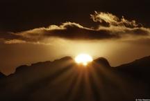 Stunning tuscan sunsets