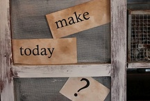To make~to do~to find  =) / by Beth Chillinsky