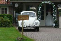 Trouwen op 't Keampke / bruiloft met een klein gezelschap