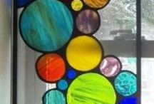 My love affair with Glass / After spending many years of my life making Leadlight, I could never tire of seeing and enjoy with beauty of glass. / by Rob Keogh