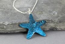 Ocean Jewellery <3 / Anything blue or starfish, shells, dolphin, fish, seahorse, anchor or waves! / by Meggie Jean