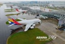 ASIANA380: Special Edition / #ASIANA380, The newest addition to Asiana Airlines coming your way, serving LAX-ICN route starting August 2014! / by Asiana Airlines