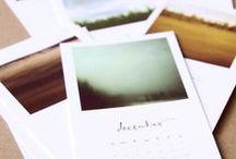 月曆/calendar / by Belle Shieh