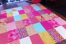 Beginners Patchwork & Quilting Course / Pictures of our patchwork and quilting course