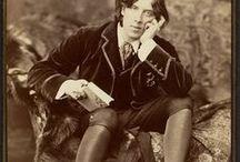 Oscar Wilde / Oscar Wilde, writer, book,