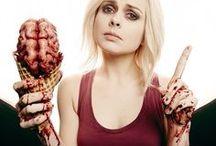 WalkingZombie / The Walking Dead, Izombie, zombie, eating people, postapo,