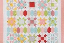 Sweet Stars Sewalong / Every Monday and Thursday in September join me and a whole bunch of fabulously talented quilters who will be sharing tips and tricks to make sewing the Sweet Stars quilt, and quilting in general, a breeze!