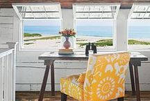 Beach Cottage / I live 2.5 miles from the beach but someday I will live on the beach and this is everything beautiful for a beach house, and my favorite things..I guess that will be when I win the lottery....whoop!whoop! / by Diane Leyh
