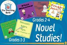 Novel Study Units Gr. 1-4: The Teaching Bank / Novel Studies available for grade 1-4.