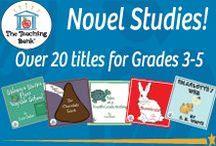 Novel Units Gr. 3-5; The Teaching Bank / Novel Studies available for grades 3-5.