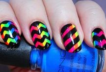 Nails Art / ♡ ♡ ♡ If only i could do those to my nails.. ♡ ♡ ♡  / by Mellie Mello