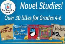 Novel Study Units Gr. 4-6: The Teaching Bank / Novel Studies available for grades 4-6.