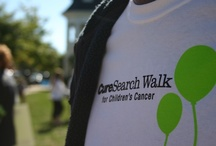 CureSearch Walk / The CureSearch Walk is a unique event, not only because dollars raised fund ongoing clinical trials at local hospitals, but also because the patients enrolled in these trials - past and present - are an integral part of the event.
