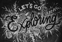 Chalk Lettering / Chalk layout inspiration