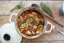 Meat-riffic / meat and poultry recipes. For fish see *fishy dishes* board