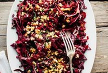 Salad Days / Salad recipes of all types - hot, cold, summer, winter, grain, green and everything in between