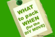 Moving tips  / by Vanessa Farmer