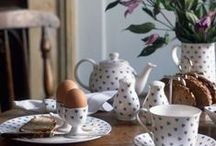 Table Settings / I am a china holic! These are things I would really like in my cupboard.