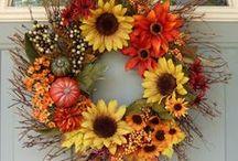 Wreaths / My door will always have a wreath