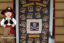 A Pirates Life For Me ! / Pirate crafts, writing activities and more for Kindergarteners!