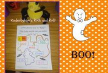 Halloween Fun! / Halloween Craft and writing ideas for Kindergarten!