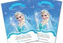 Frozen Birthday /  Collecting ideas for my daughters Frozen 7th birthday party!