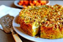 Baking With Vegetables / A mix of sweet and savoury creations with vegetables as the star ingredient.