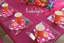 Sunset Themed Painting Birthday Party