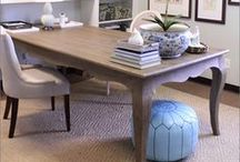{cool work spaces} / I love a great organized workspace with some style / by Sarah Jones