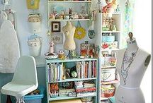Craft Room Ideas / The BEST craft rooms on Pinterest!