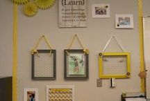 Homeschool Room / An inspiration board for our homeschool room. #homeschool #homeschoolrooms