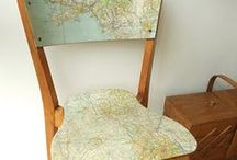 Globes & Maps / This is about how you can Upcycle old globes!