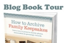 Archive Keepsakes Blog Book Tour / How to Archive Family Keepsakes Blog Book Tour Jan. 10-26. Join us for author interviews, book excerpts, and giveaways from author Denise Levenick, The Family Curator. <http://www.thefamilycurator.com/book-tour/> / by The Family Curator