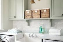 Laundry Room / With 6 kids, you spend a lot of time in your laundry room.
