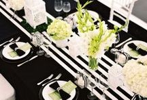Black and White Wedding / by Alethea Bryant