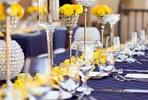 Navy & Yellow Wedding / by Alethea Bryant