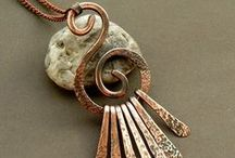 Art - Jewelry - Hammered/Forged / by Colleen Jepkes