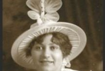 VINTAGE Hats / My Grandmother loved hats! Big, bold, whimsical, witty, dainty, or demure -- vintage hats for every occasion.