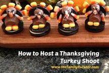 Thanksgiving / Food, Family, Fall Decorations for the oldest American holiday.