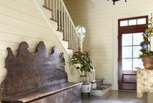 Stairs & Entryway Ideas / Beautiful ways to make a statement in your entryway.