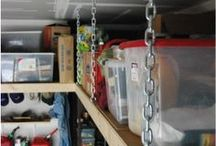 Garage / Organize you garage with  these inspirational ideas.