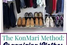Konmari / This is about the Kon Mari Method.  The Japanese art of tidying up.