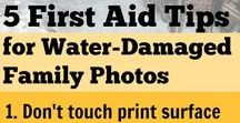Disaster Prep for Genealogy / Prepare for fire, flood, hurricane, tornado, earthquakes, and salvage damaged family photos or genealogy after a disaster.