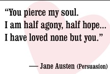 ✯ Damn Jane Austen... I blame you for my high expectations of men. ✯