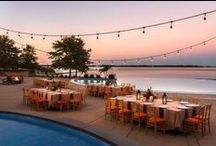 Outdoor Receptions / From our Outdoor Waterfront locations to the Nautical Inspired Ballroom. There are so many options at the Hyatt for your Dream Wedding!