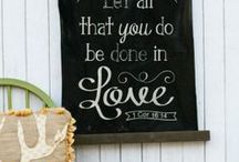 Inexpensive DIY Wall Decor / Inexpensive wall decor tutorials and ideas from across the webisphere! / by Bethany {Pitter & Glink}