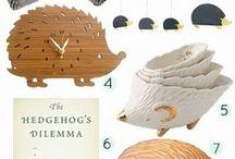 Hedgehogerie / Hedgehogs / by hedgehogerie